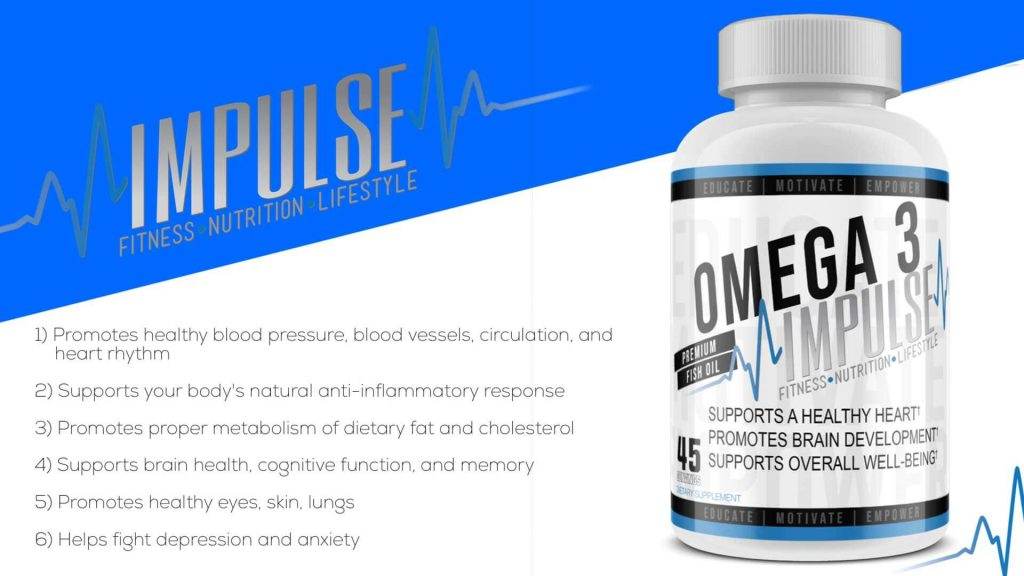 Impulse Training - Omega 3 Fish Oil