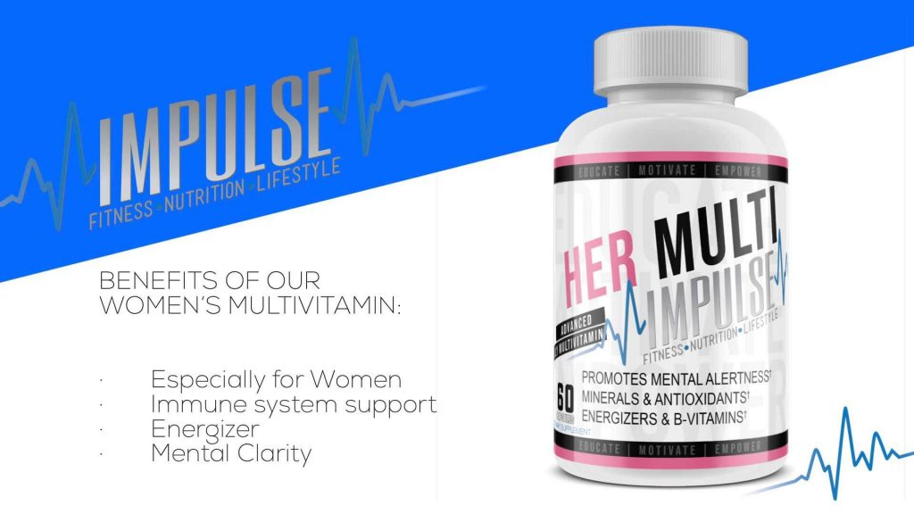 Impulse Training - Women's Multi Vitamin