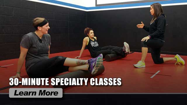 Slider - 30-minute Specialty Classes