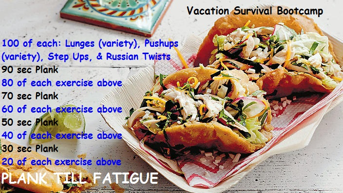vacation survival bootcamp